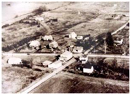 Intersection of Rt. 19 and Rt. 228 in the 1940s