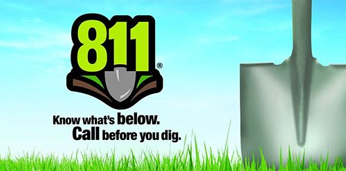Call 811 before you dig Opens in new window